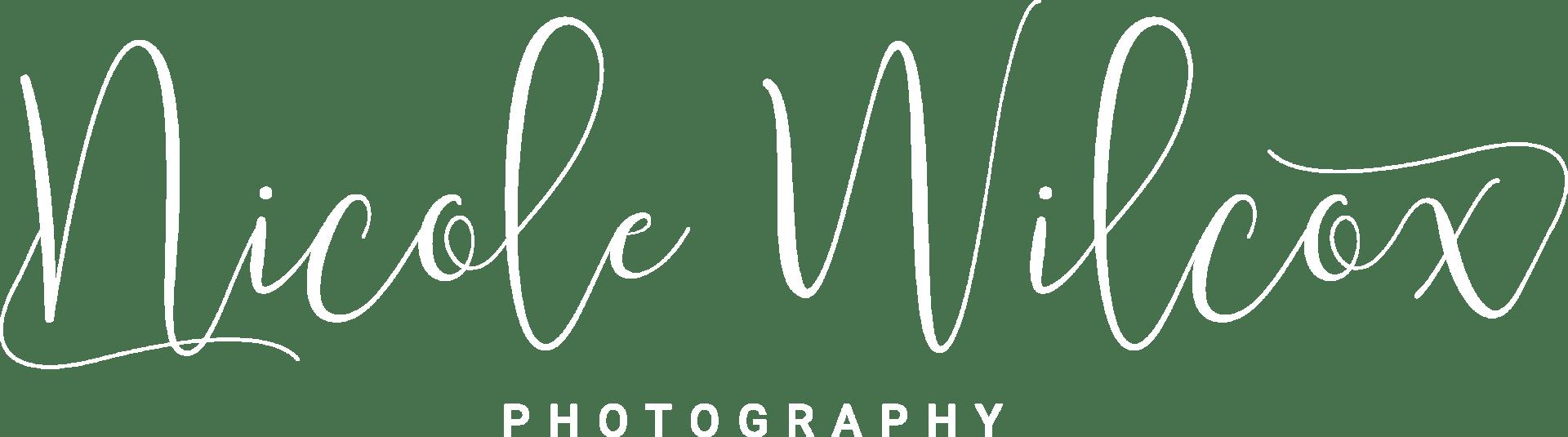 nicole wilcox photography logo